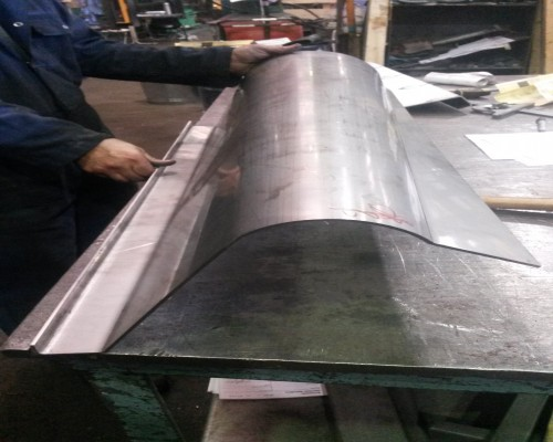 Steel Section Bending Image 9